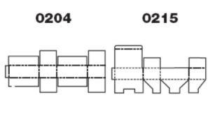 коробки FEFCO образец рисунок