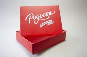 коробка крышка-дно фото