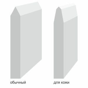Ножи штанцформы для кожи рисунок